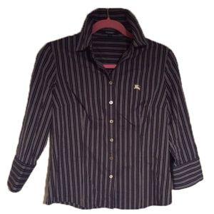 Classic Burberry Dress Shirt